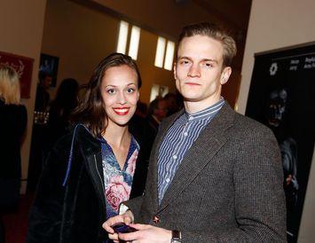 Ellen Margrét Bæhrenz og Arnmundur Ernst Backman.