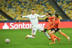 Martin Ødegaard í leik með Real Madríd í vetur.