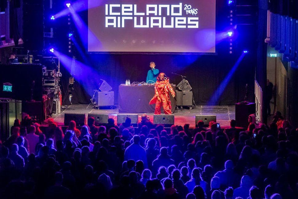 Frá tónleikum Tierru Whack í Listasafni Reykjavíkur á Iceland Airwaves ...
