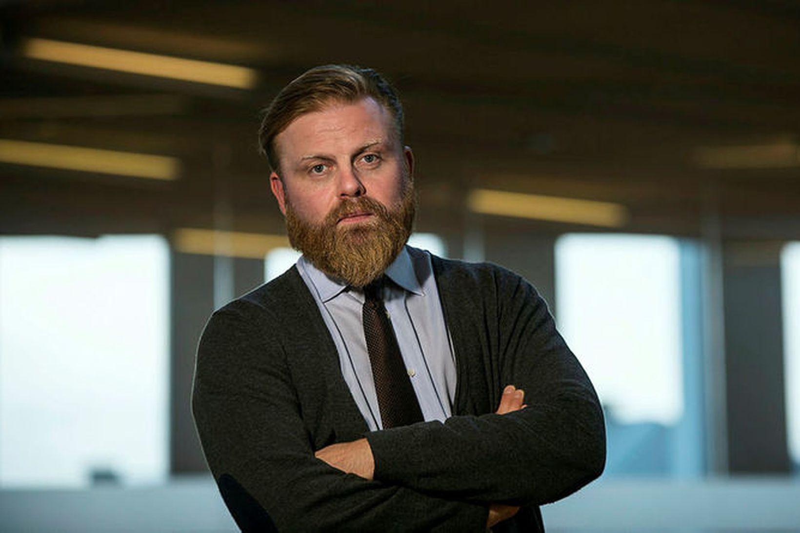 Ásgeir Jónsson, tilvonandi seðlabankastjóri.