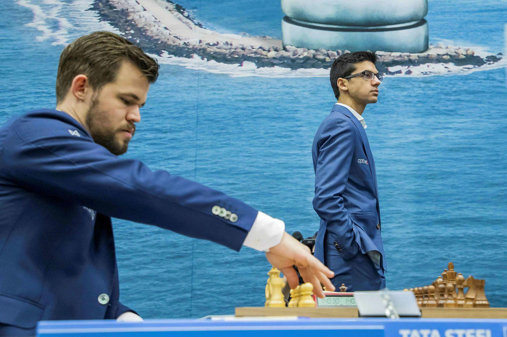 Magnus Carlsen hefur ekki tapað í síðustu 111 skipti sem …