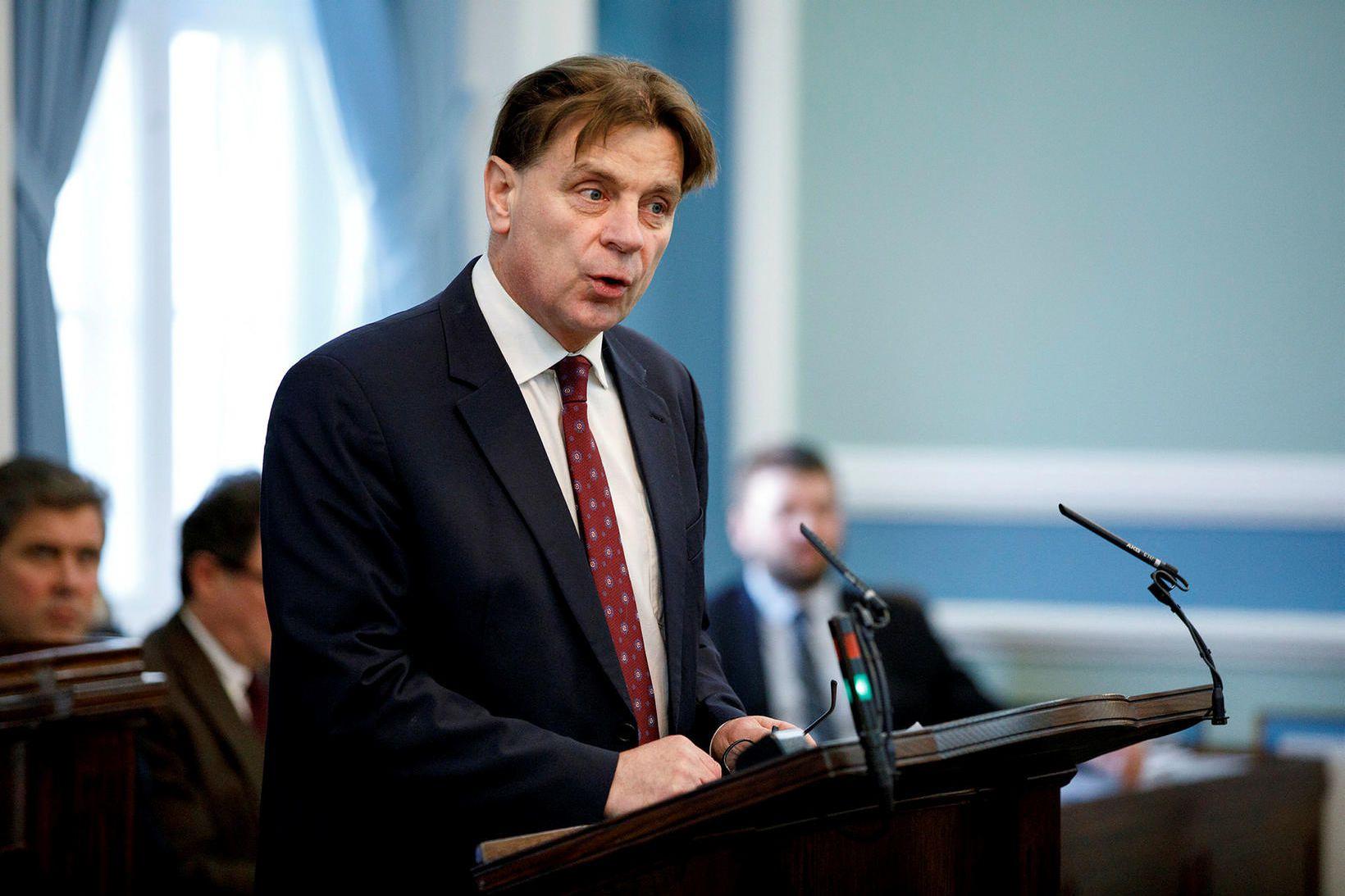 Karl Gauti Hjaltason, þingmaður Miðflokksins.