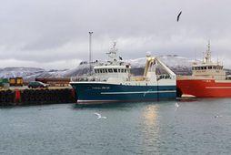 Farsæll SH landaði 60 tonnum á Grundarfirði. Stýrimaðurinn stefán Viðar Ólason segir veiðar hafa gengið …