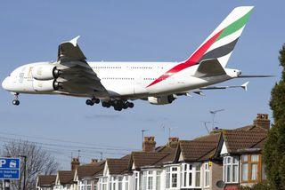 Airbus A380 ofurþotan.