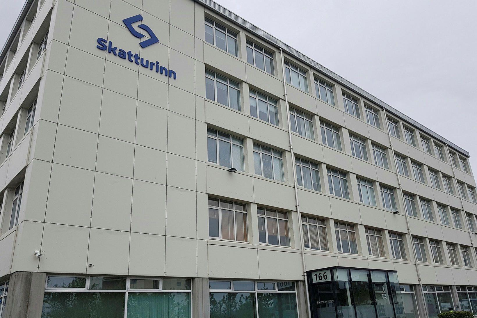 Bækistöðvar Skattsins við Laugaveg.
