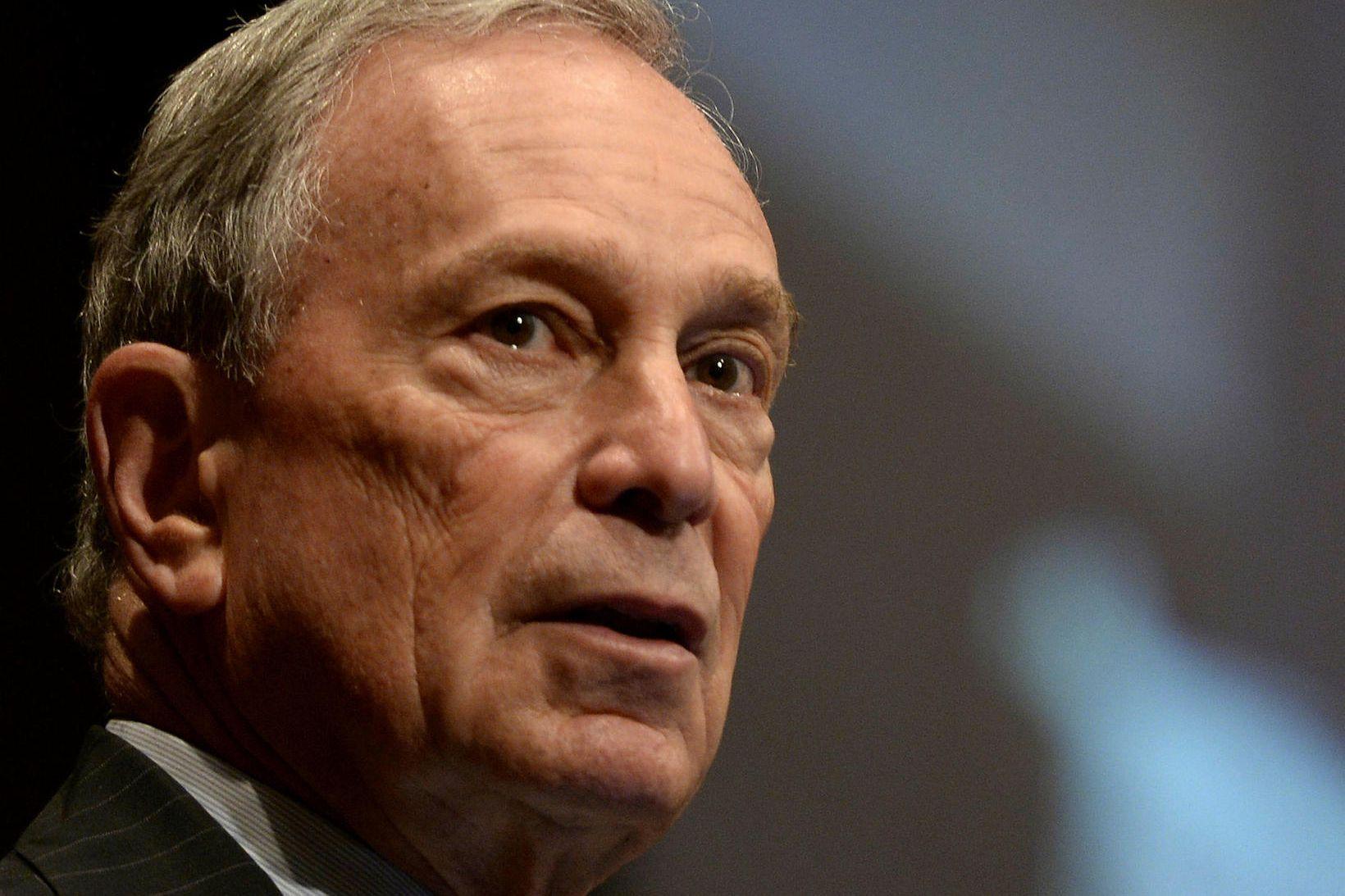 Michael Bloomberg, fyrrverandi borgarstjóri New York og frambjóðandi í forkosningum …