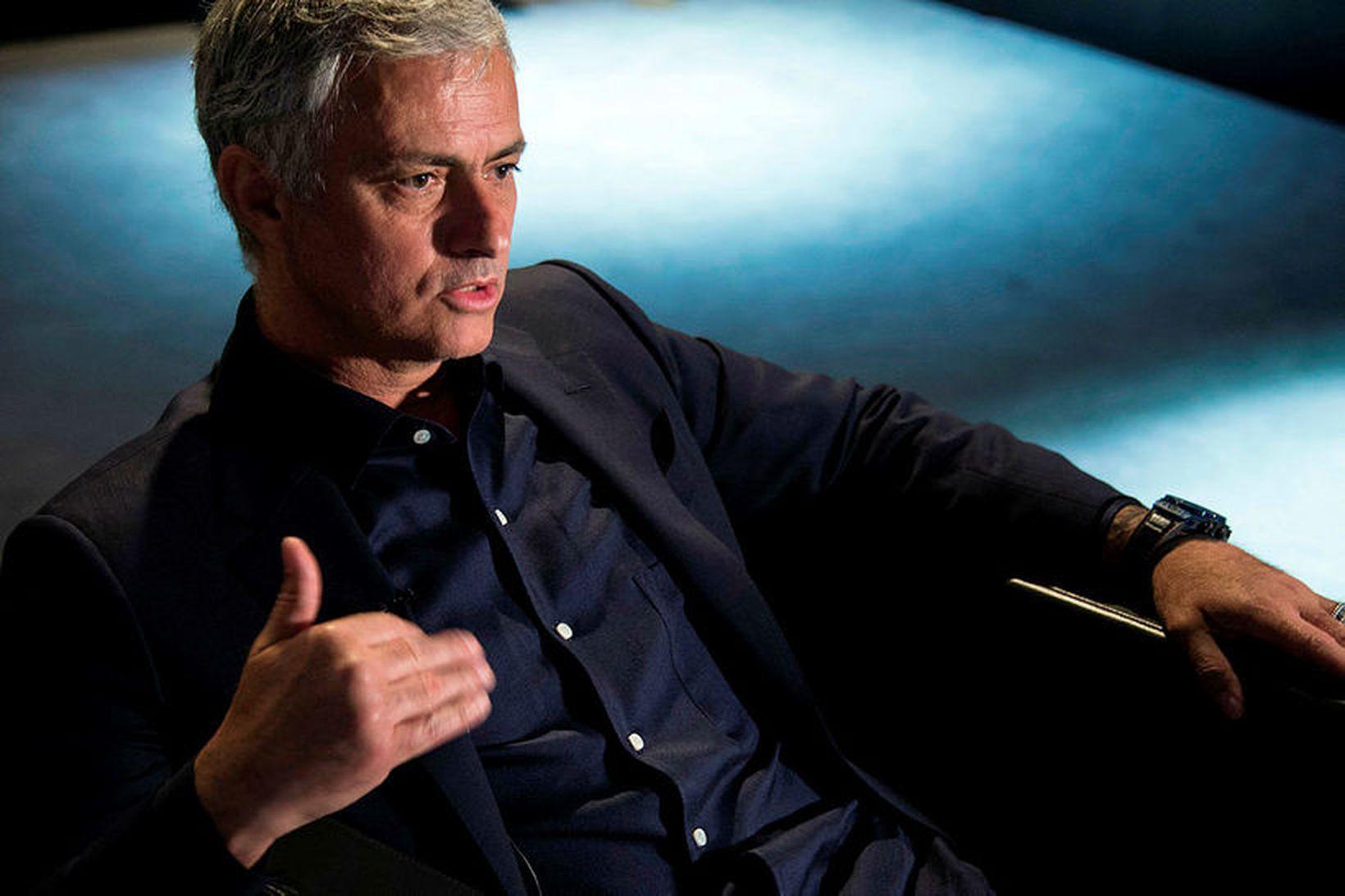 Jose Mourinho er spenntur fyrir því að taka þátt á …