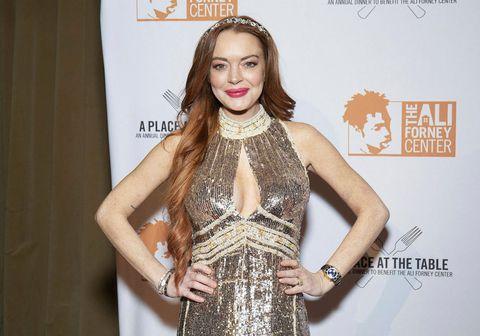 Leikkonan og skartgripahönnuðurinn Lindsay Lohan.