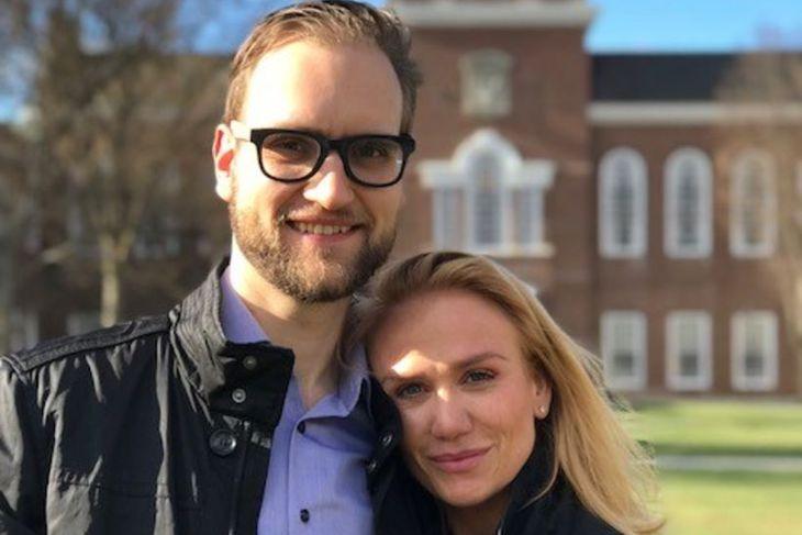 Sindri Aron Viktorsson og Hanna Kristín Skaftadóttir eiga von á ...