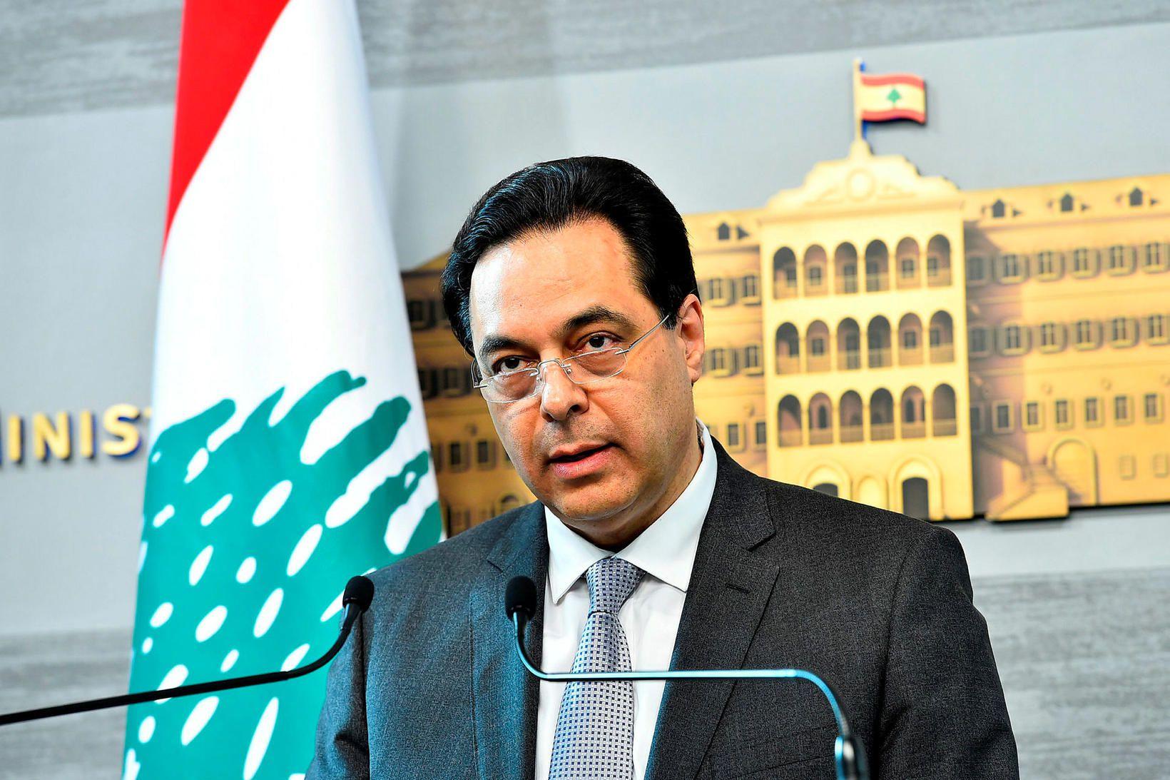Hassan Diab, forsætisráðherra Líbanon.