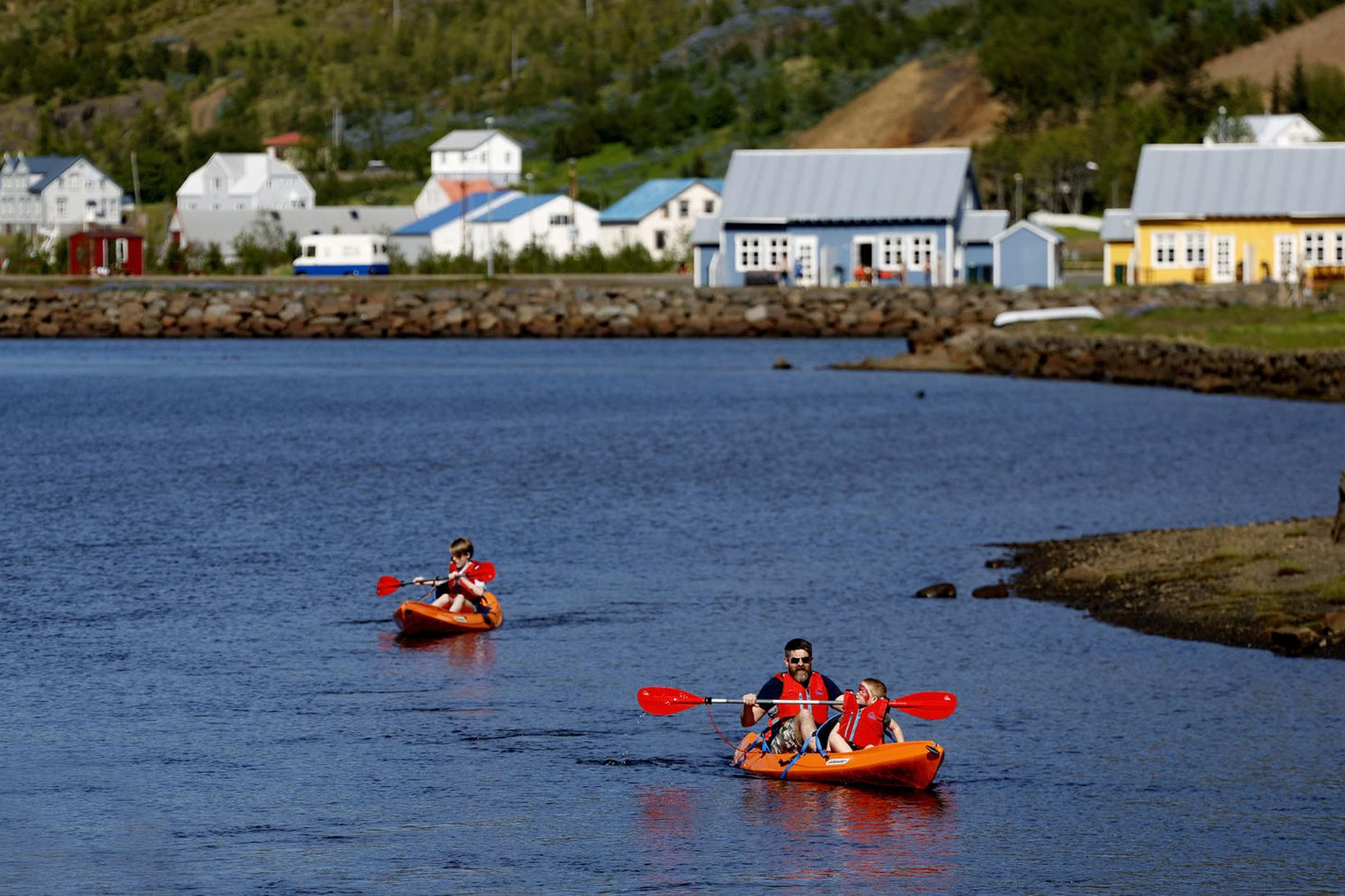 Veður hefur verið með besta móti á Austurlandi í sumar.