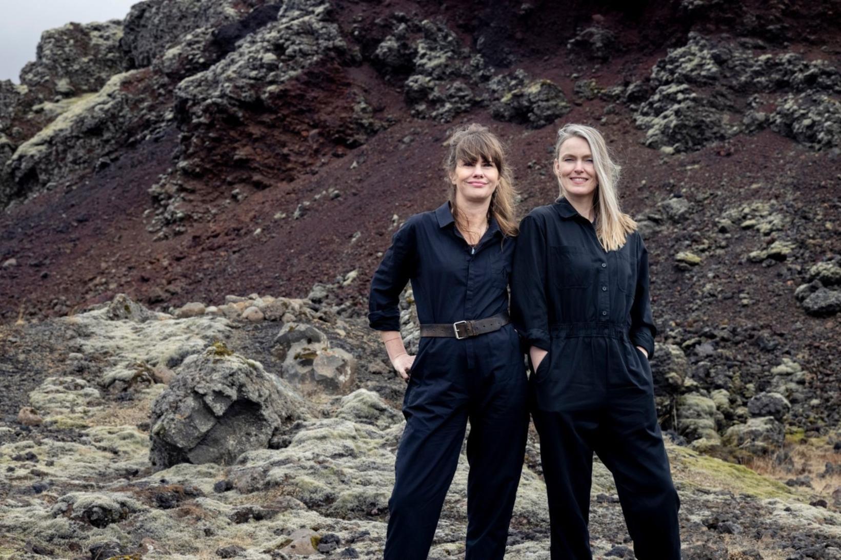 Sara Jónsdóttir og María Kristín Jónsdóttir eru stofnendur On to …