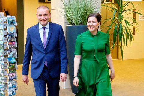 Guðni Th. Jóhannesson forseti íslands og Eliza Reid.
