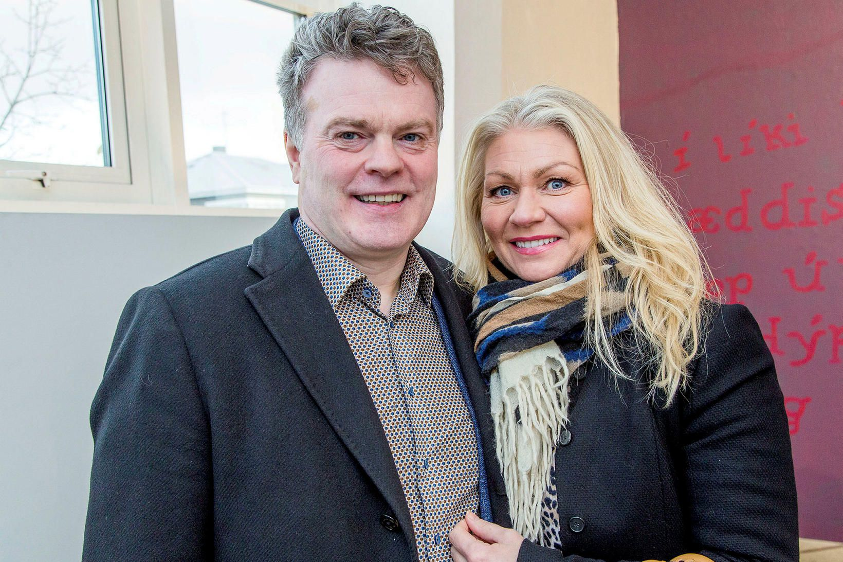 Halldór Halldórsson og Sigríður Hjálmarsdóttir.