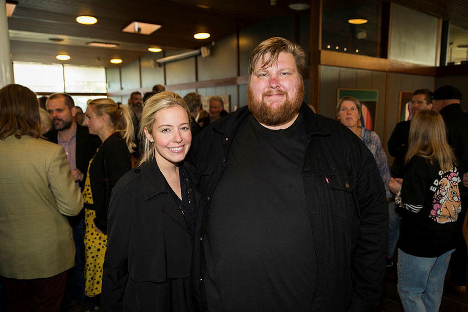 Anna Björk Sigurjónsdóttir og Valdimar Guðmundsson.
