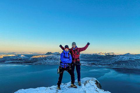 Heimir Fannar Hallgrímsson og Sigurður Bjarni Sveinsson ganga á topp Everest til góðs.