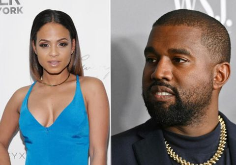 Orðrómar eru á sveimi um að Kanye West hafi montað sig yfir að hafa haldið framhjá Kim Kardashian með söngkonunni Christina Milian.