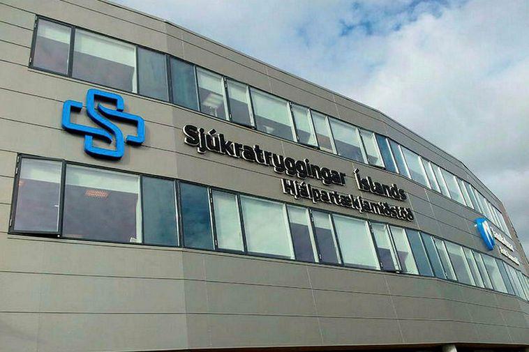 The Icelandic Health Insurance building.