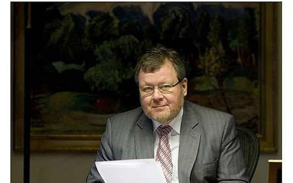 Össur Skarphéðinsson.