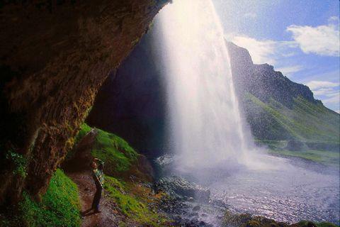 Seljalandsfoss, South Iceland.