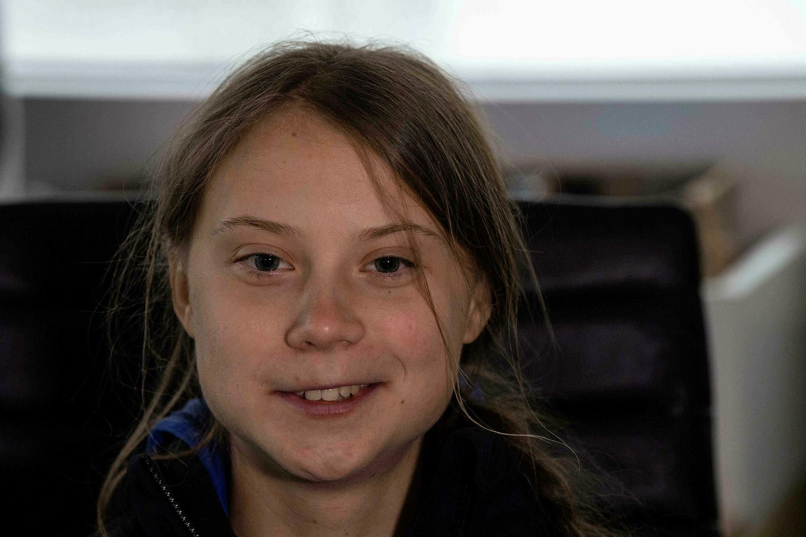 Greta Thunberg. Nú eru uppi kenningar um að hún sé …