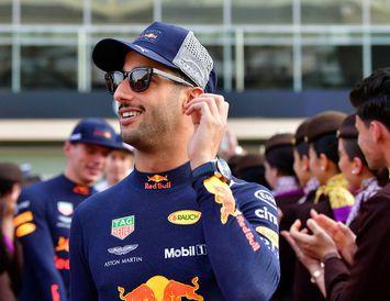 Daniel Ricciardo í Abu Dhabi þar sem formúlutíðinni lauk í ár. Hann verður í nýjum ...