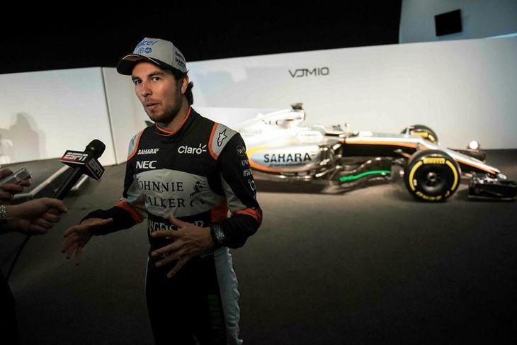 Sergio Perez dreymir um jómfrúarsigur sinn og Force India á árinu.