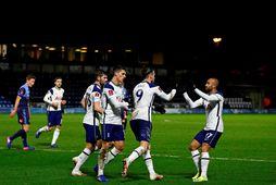 Tottenham þurfti að taka á honum stóra sínum gegn B-deildarliði Wycombe Wanderers.
