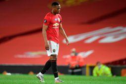 Stutt er í að Anthony Martial geti byrjað að æfa á ný með Manchester United.
