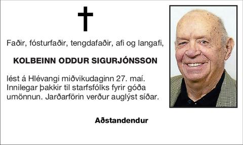 Kolbeinn Oddur Sigurjónsson