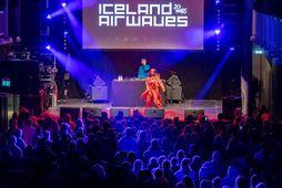 Frá tónleikum Tierru Whack í Listasafni Reykjavíkur á Iceland Airwaves í fyrra.