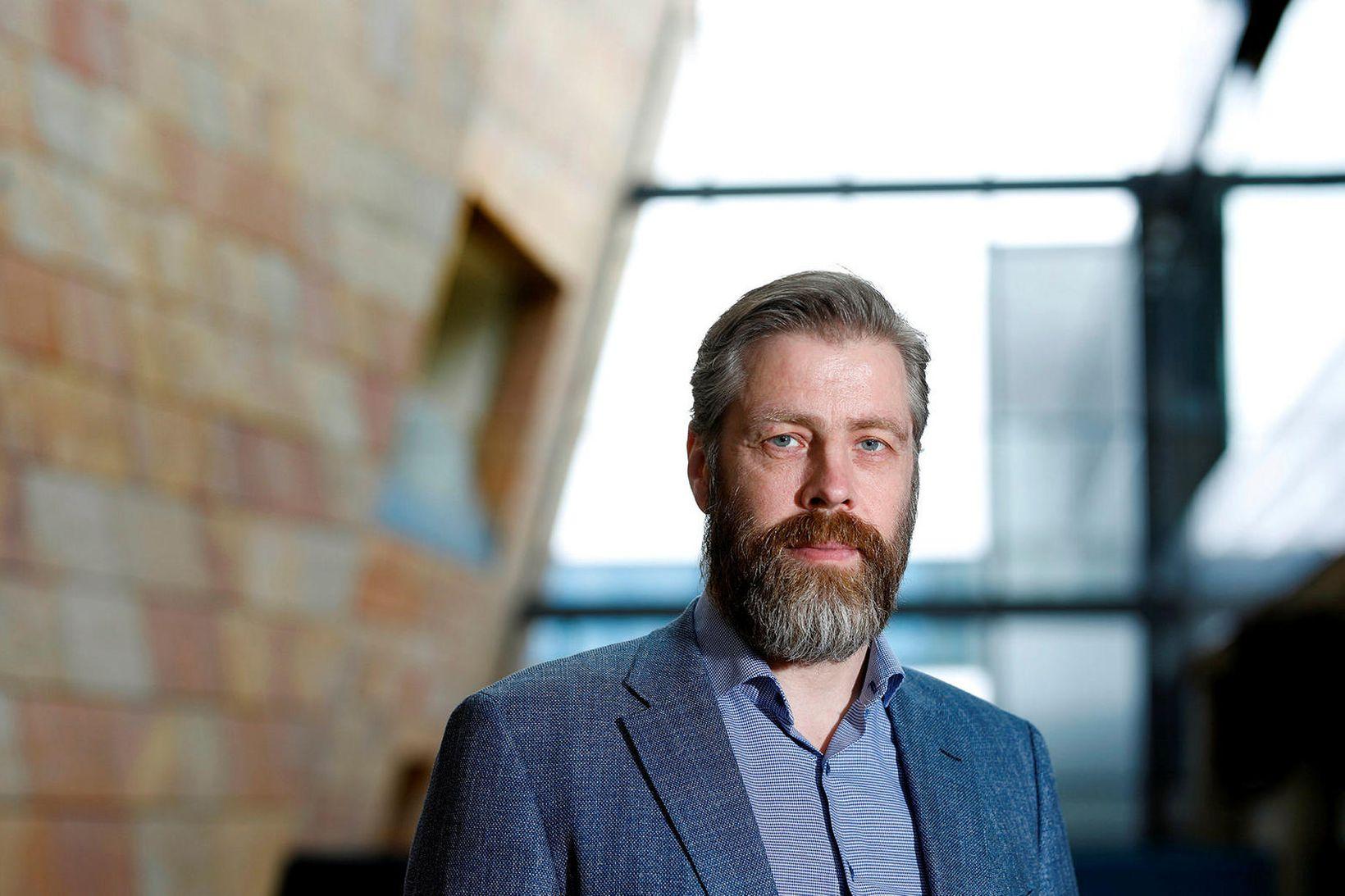 Sveinbjörn Indriðason, forstjóri Isavia