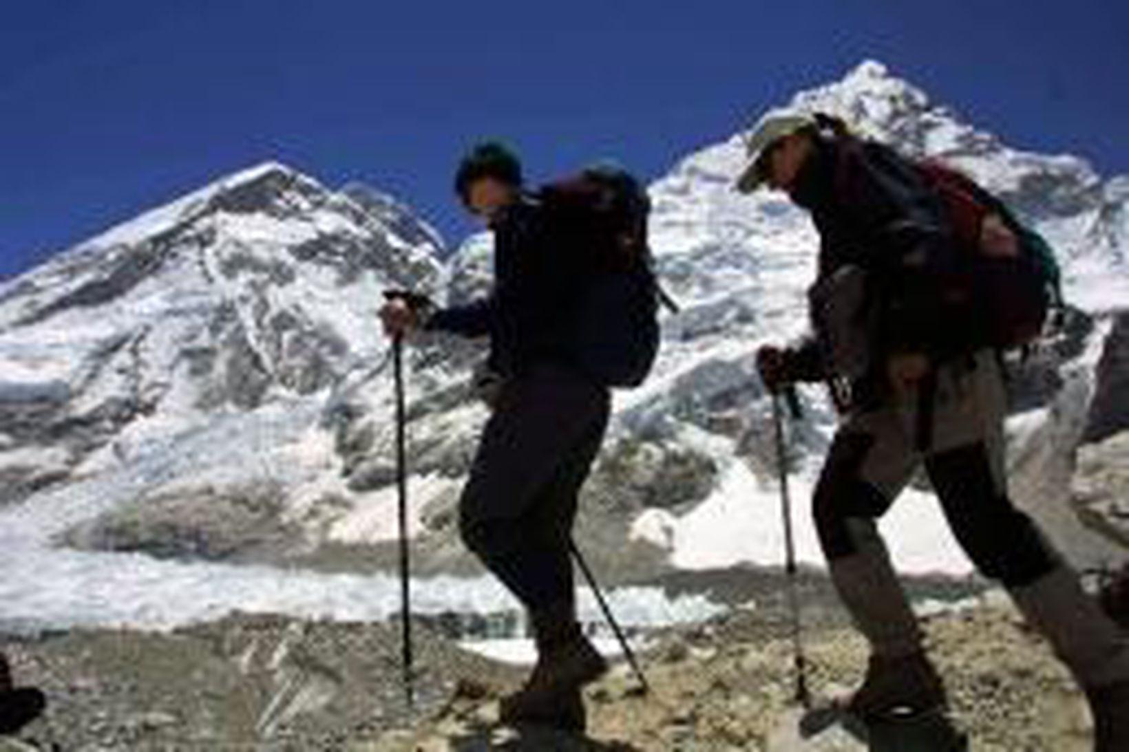 Hlutfallslega margir Íslendingar hafa komist á tind Everest.