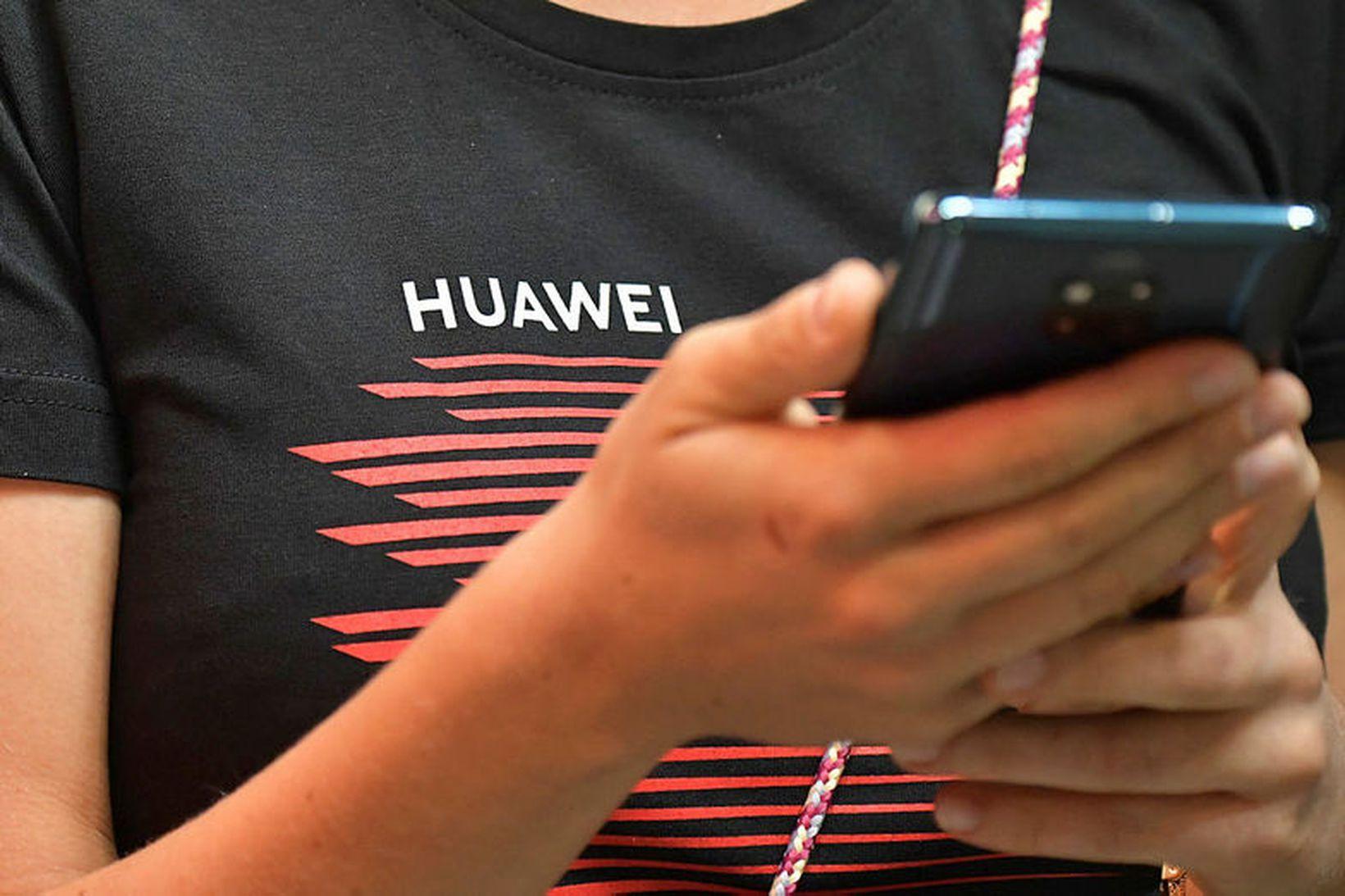 Huawei er orðið eitt stærsta fyrirtæki heims á snjallsímamarkaði.