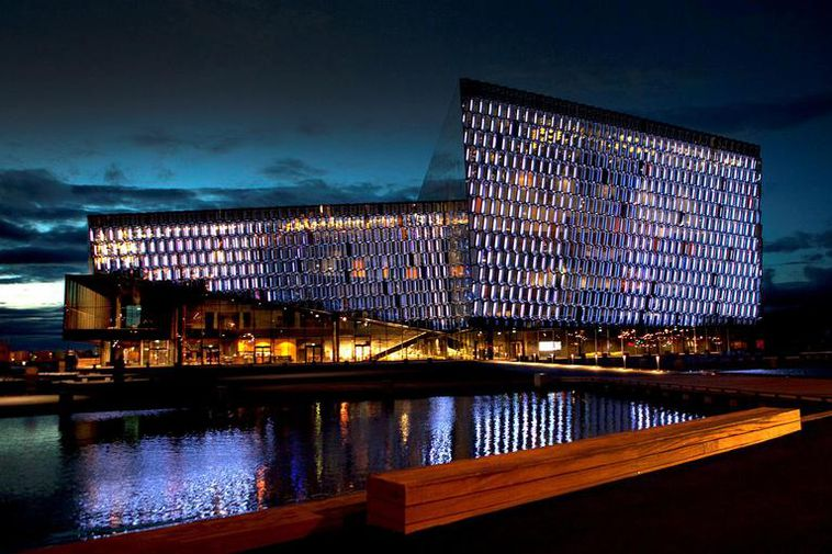 Harpa Concert Hall and Conference Centre is located by Reykjavik harbour in the city centre.