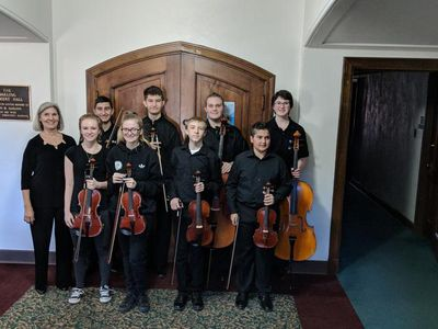 Lunchtime concert | The Student String Chamber Ensemble