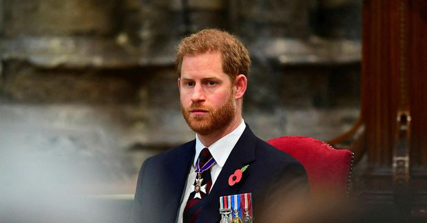 Harry Bretaprins er kominn til Bretlands.
