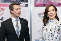 Friðrik krónprins Danmerkur og Mary krónprinsessa.