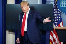 Sérstaka athygli vakti svo þegar Donald Trump Bandaríkjaforseti sagðist taka lyfið sem forvörn gegn kórónuveirunni.