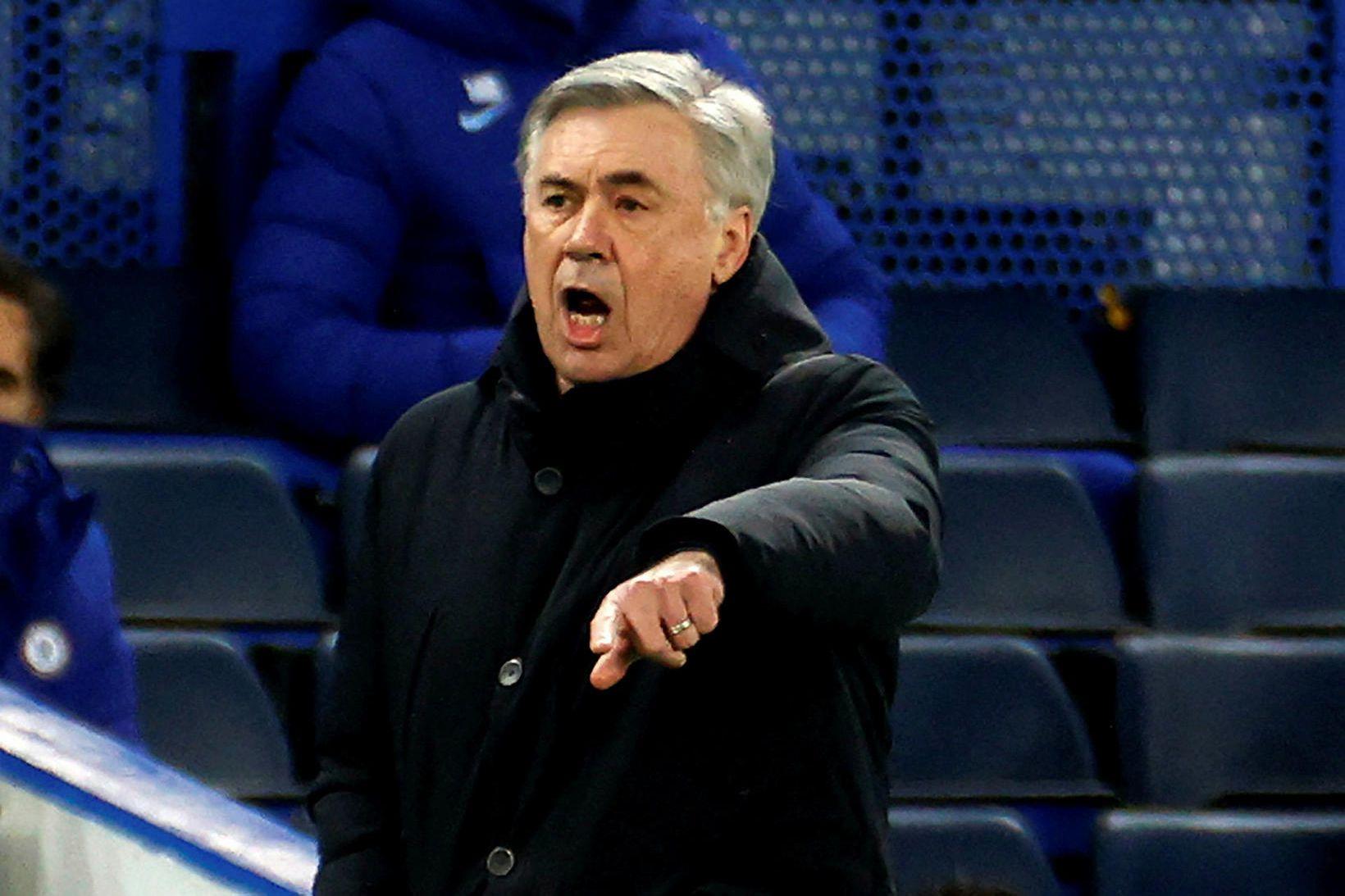 Carlo Ancelotti, knattspyrnustjóri Everton.
