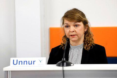 Unnur Sverrisdóttir forstjóri Vinnumálastofnunar.