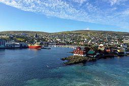 Þórshöfn í Færeyjum.
