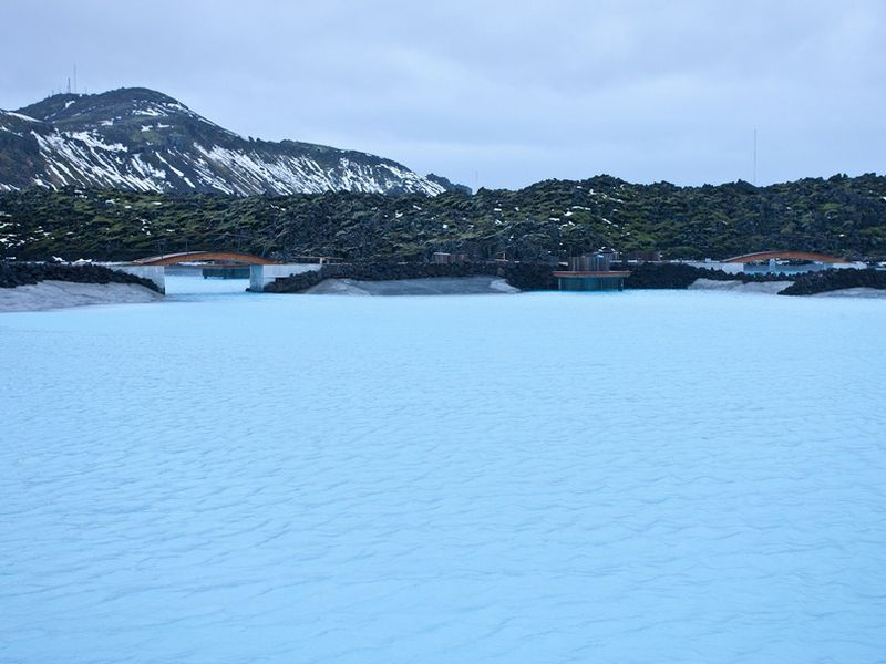 The Blue Lagoon is one of Iceland's most popular tourist spots.