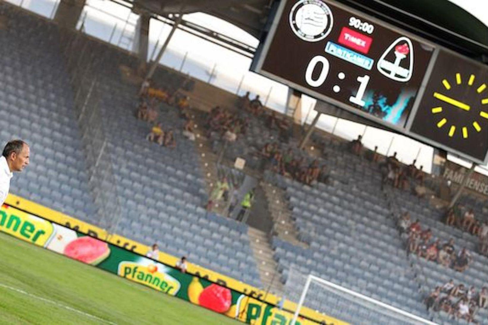 Breiðablik vann frækinn sigur á Sturm Graz árið 2013.