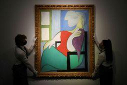 Umrætt málverk eftir Picasso.