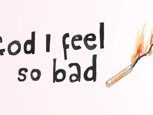 Guided tour in English: God, I Feel So Bad
