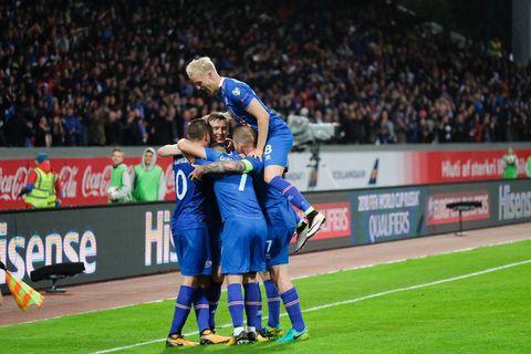 Iceland beat Ukraine 2:0 last night.