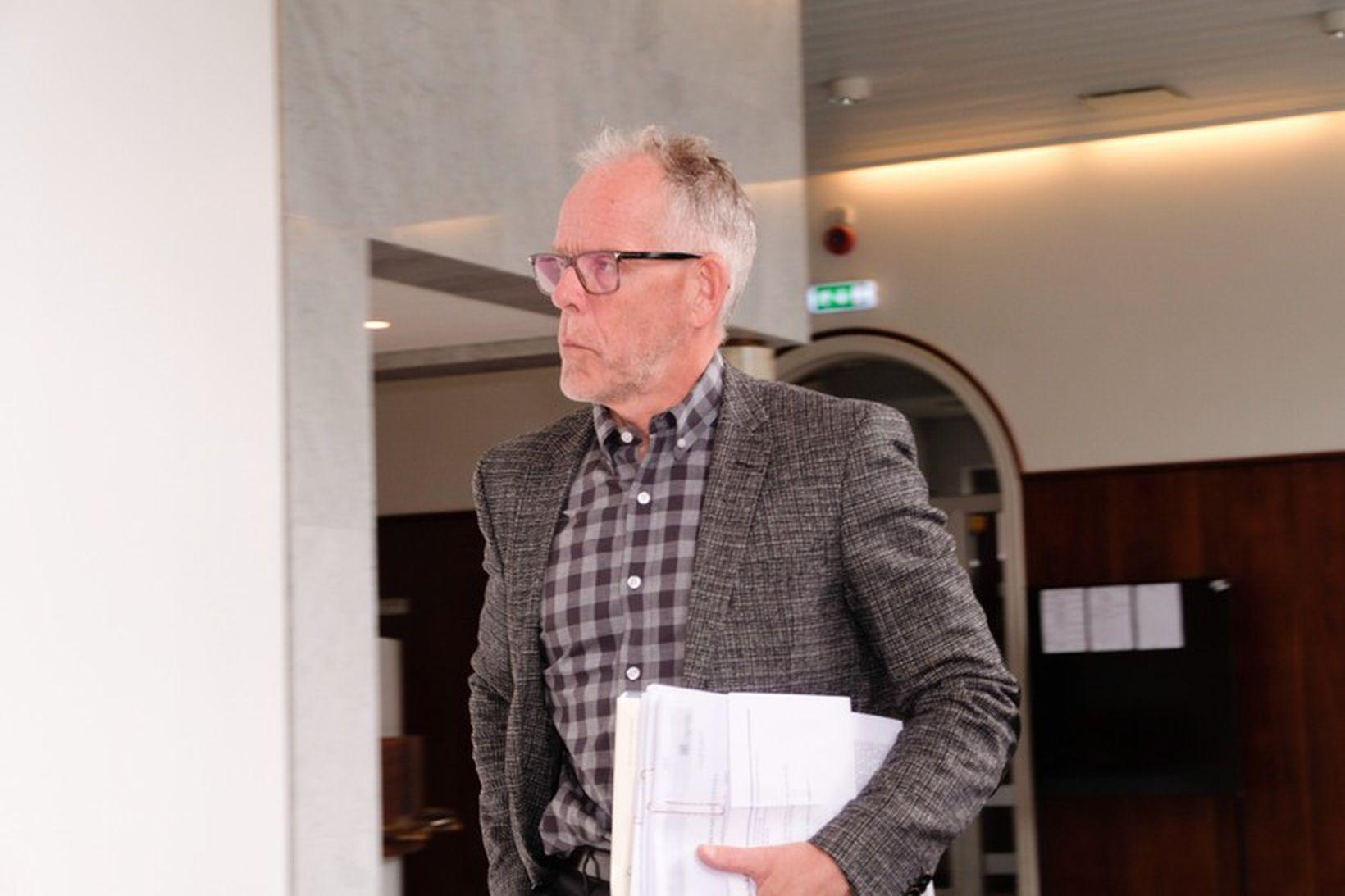 Sigurður G. Guðjónsson hæstaréttarlögmaður.