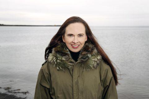 Yrsa Sigurðardóttir verkfræðingur og rithöfundur.