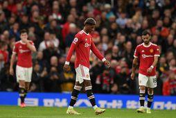 Manchester United fékk skell gegn Liverpool um nýliðna helgi.